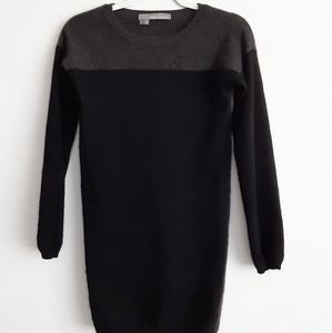 360 Cashmere Soft Color Block Long Sleeve Tunic